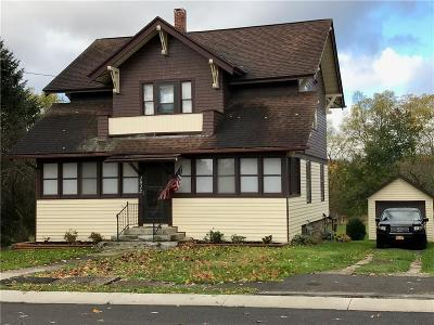 Wayland NY Single Family Home A-Active: $72,500