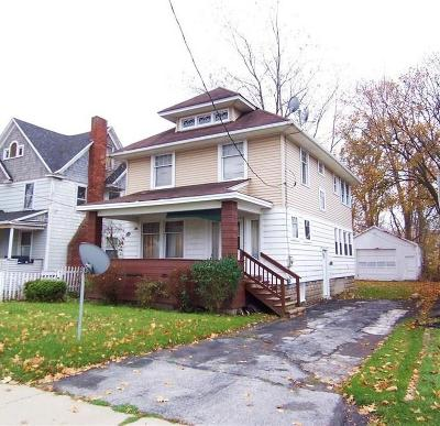 Batavia-City NY Single Family Home For Sale: $69,900
