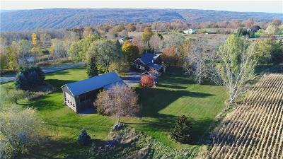 Allegany County, Genesee County, Livingston County, Ontario County, Steuben County, Wyoming County, Yates County Single Family Home A-Active: 3100 Shay Road