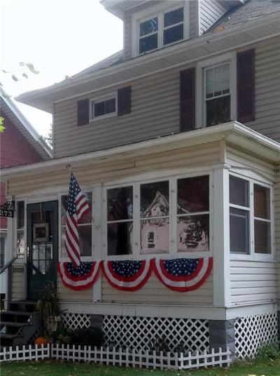Rochester Single Family Home A-Active: 273 Winchester Street