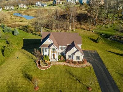Victor NY Single Family Home A-Active: $479,900