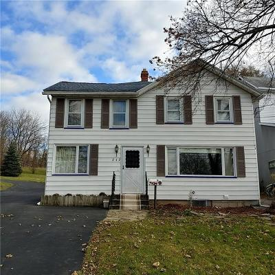 Livingston County Single Family Home A-Active: 242 Rochester Street