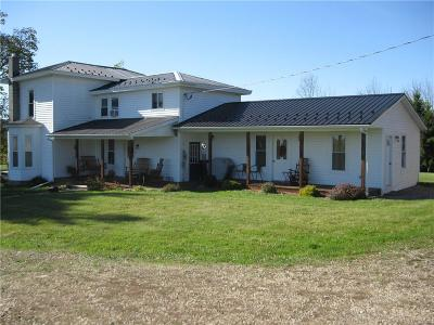 Allegany County, Genesee County, Livingston County, Ontario County, Steuben County, Wyoming County, Yates County Single Family Home A-Active: 4601 County Route 82