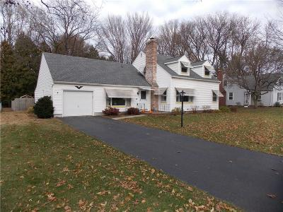 Webster Single Family Home A-Active: 474 Backus Road