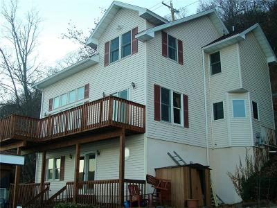 Single Family Home A-Active: 9180 West Lake Rd