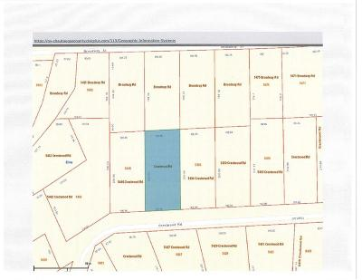 Ellery NY Residential Lots & Land A-Active: $34,900