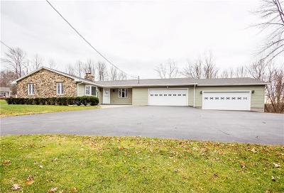 Victor Single Family Home A-Active: 7255 Lane Road
