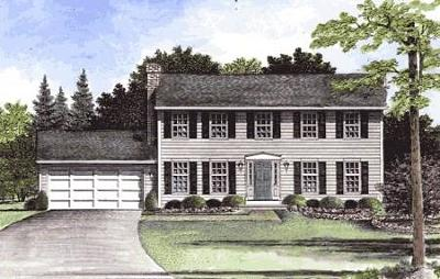 Monroe County Single Family Home A-Active: 107 Hamline Parma Townline Road