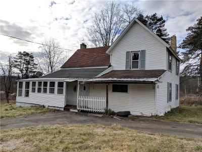 Olean-Town NY Single Family Home A-Active: $24,900