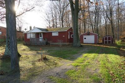 Orleans County Single Family Home A-Active: 5000 Hellert Road