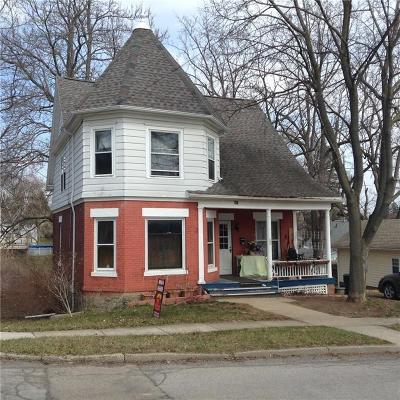 Mount Morris NY Single Family Home A-Active: $74,900