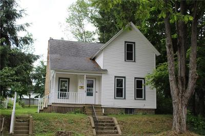 Jamestown NY Single Family Home A-Active: $52,500