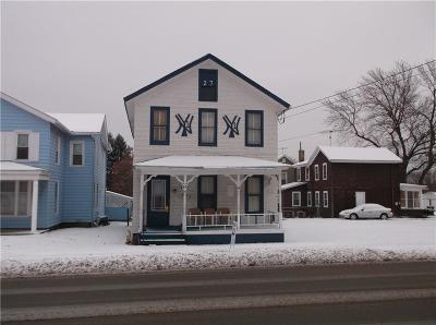 Lyons NY Single Family Home A-Active: $69,000