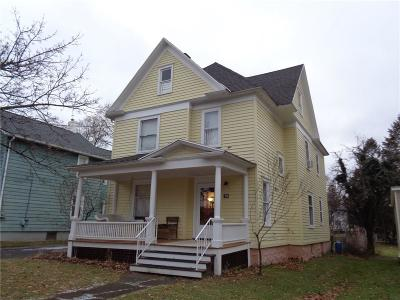 Geneva-City NY Single Family Home A-Active: $129,900