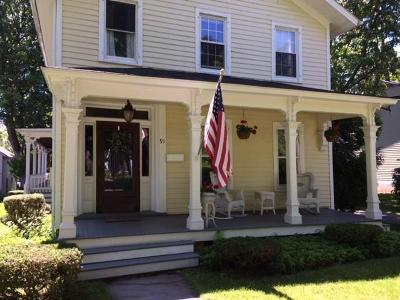 Canandaigua-City Single Family Home A-Active: 91 Gorham Street
