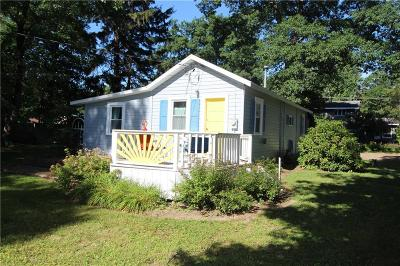 Mayville NY Single Family Home Sold: $122,500