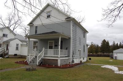 Batavia-City NY Single Family Home A-Active: $79,500
