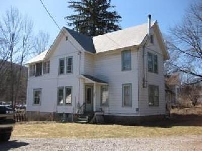 Alfred NY Single Family Home A-Active: $84,900