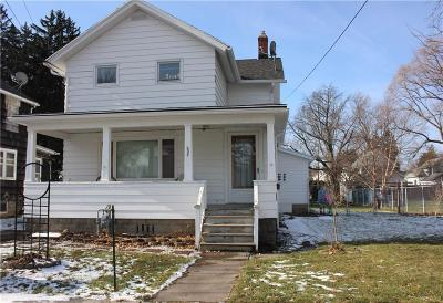Batavia-City NY Single Family Home A-Active: $97,500