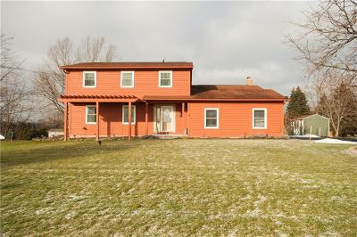Single Family Home A-Active: 162 Victor Mendon Road