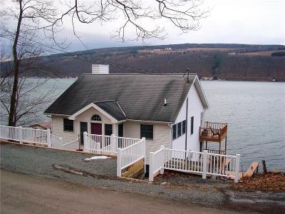 Urbana Single Family Home A-Active: 9965 East Lake Rd