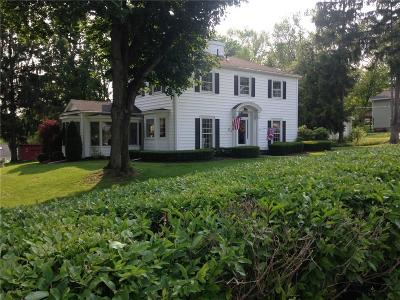 Chautauqua NY Single Family Home Sold: $215,000