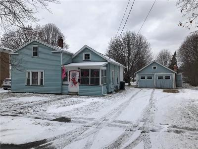 North Dansville NY Single Family Home A-Active: $69,900