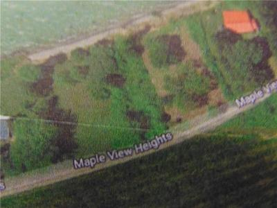 Residential Lots & Land A-Active: Mapleview
