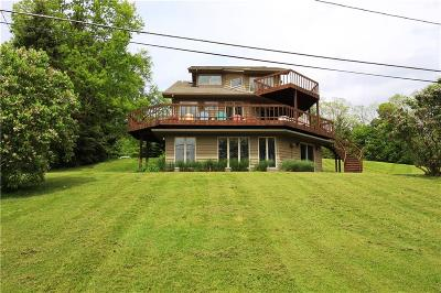 Bemus Point NY Single Family Home U-Under Contract: $499,000