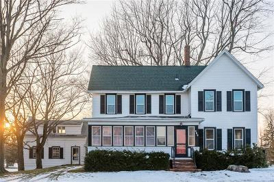 Webster Single Family Home A-Active: 469 Salt Road