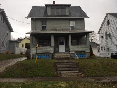 Jamestown NY Single Family Home A-Active: $32,400