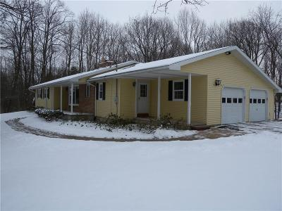 Genesee County, Livingston County, Monroe County, Ontario County, Orleans County, Wayne County Single Family Home A-Active: 7000 Cleary Road