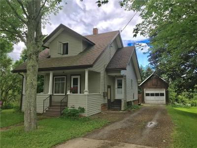 Wayland NY Single Family Home A-Active: $64,900