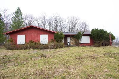 Rush Single Family Home A-Active: 5330 East Henrietta Road