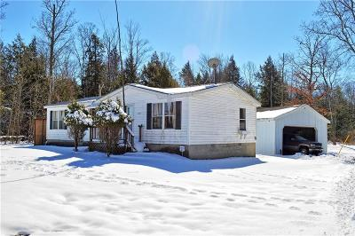 North Harmony NY Single Family Home A-Active: $79,900