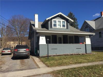 North Dansville NY Single Family Home C-Continue Show: $82,000