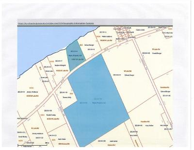 Chautauqua County Residential Lots & Land A-Active: 10283 West Lake And West Lake Road