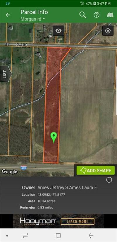 Chili Residential Lots & Land A-Active: 1585 Davis Road