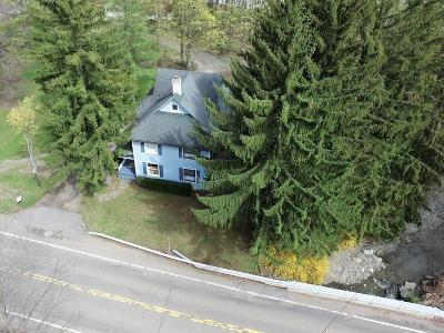Single Family Home A-Active: 10824 West Lake Road