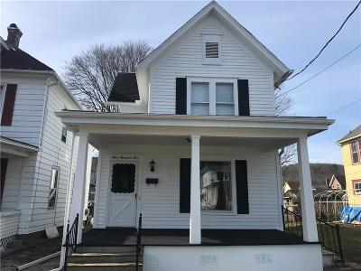 Olean-City NY Single Family Home A-Active: $54,900