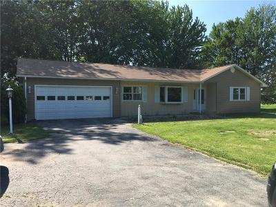 Orleans County Single Family Home U-Under Contract: 1778 Oak Orchard Rd Road