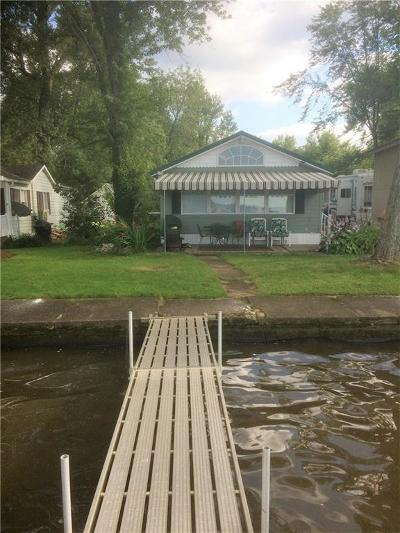 Chautauqua County Single Family Home A-Active: 62 Loomis Bay Road