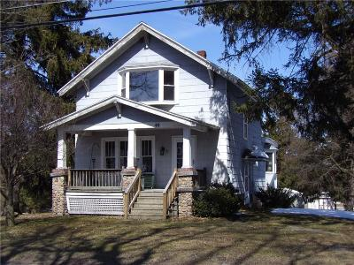Manchester NY Single Family Home A-Active: $89,900