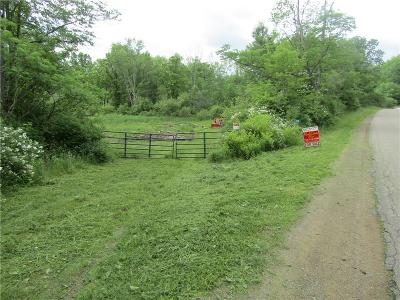 Allegany County, Cattaraugus County Residential Lots & Land A-Active: West River Road
