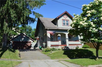 Jamestown NY Single Family Home A-Active: $63,500