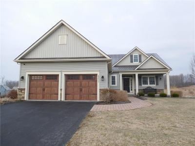 Canandaigua, Canandaigua-city, Canandaigua-town Single Family Home A-Active: 5211 Whitecliff Drive