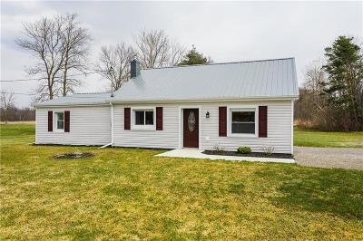 Genesee County Single Family Home A-Active: 7331 West Bergen Road