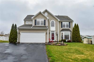 Victor Single Family Home A-Active: 776 Duck Hollow