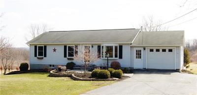 Canandaigua-city, Canandaigua-town Single Family Home A-Active: 3655 Middle Cheshire Road
