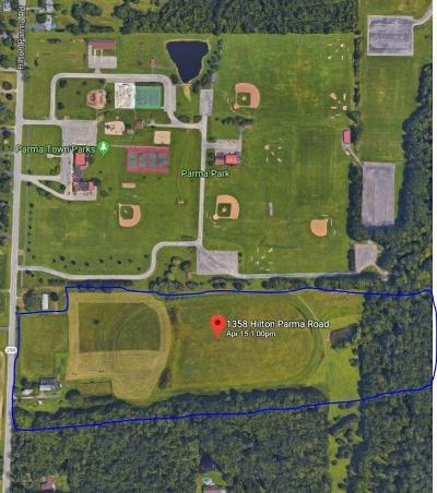 Monroe County Residential Lots & Land A-Active: 1358 Hilton Parma Road